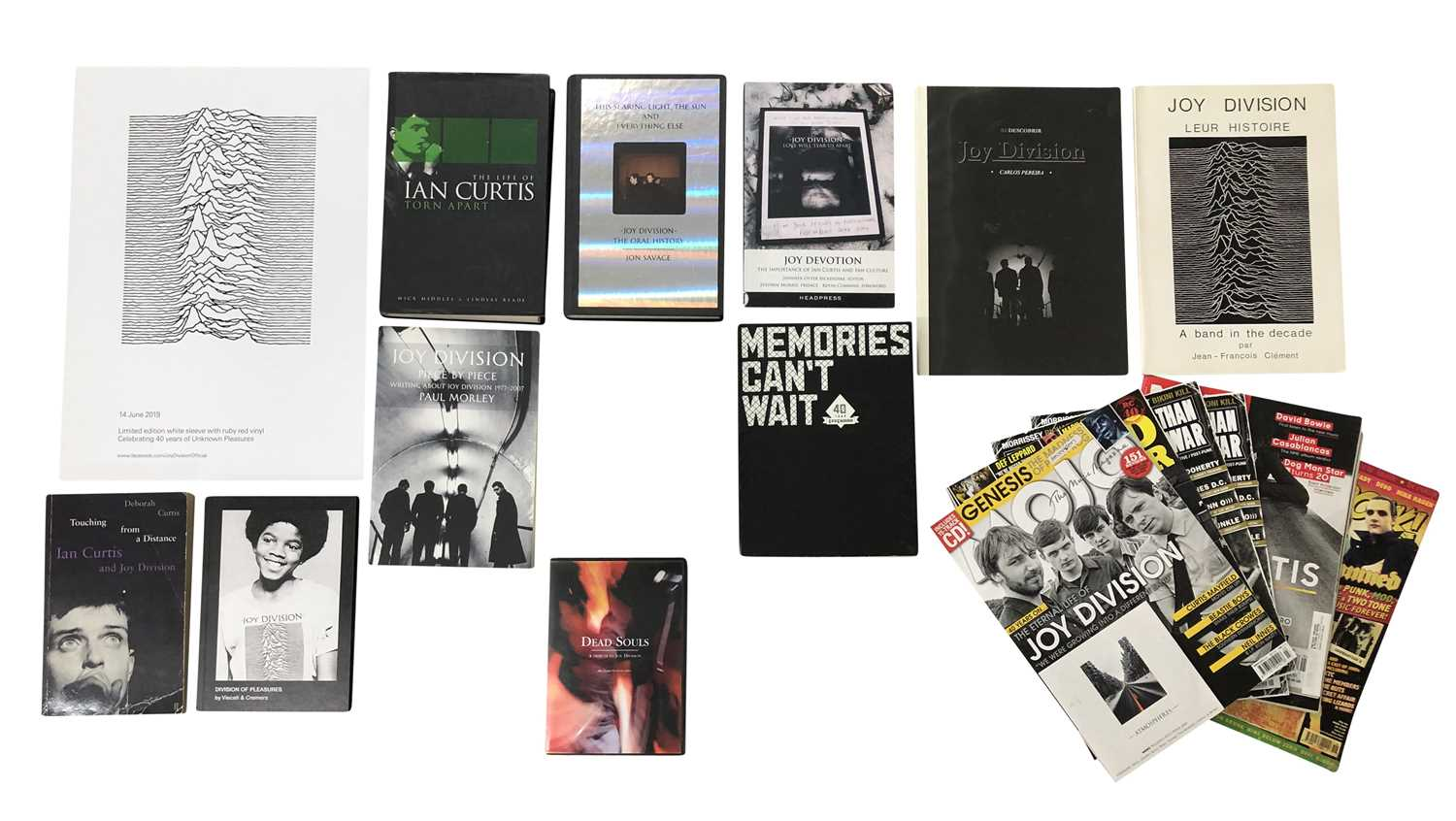 JOY DIVISION BOOKS AND MAGAZINES COLLECTION