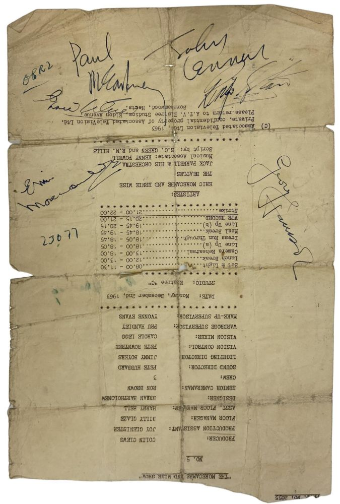 The Beatles Collection - Omega Auctions