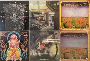 HAWKWIND - LPs
