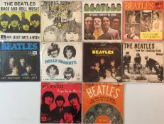 """THE BEATLES - DANISH 7"""" PICTURE SLEEVE RELEASES"""