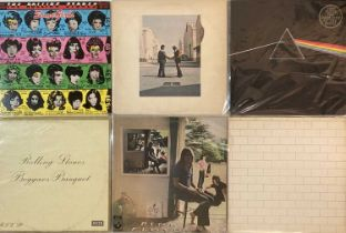 PINK FLOYD/ THE ROLLING STONES - LPs