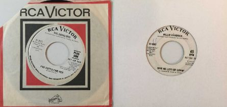 """WILLIE KENDRICK/THE CAVALIERS - NORTHERN SOUL 7"""" DEMOS (RCA)"""