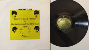THE BEATLES - FROM THEN TO YOU - CHRISTMAS 1970 LP (FAN CLUB - LYN 2154)