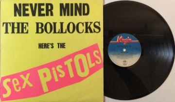 SEX PISTOLS - NEVER MIND THE BOLLOCKS LP (PLAIN BACK - V2086)