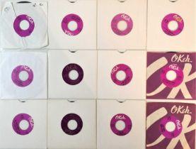 "OKEH RECORDS - ORIGINAL US STOCK 7"" (NORTHERN/SOUL)"