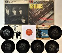 """THE BEATLES - LPs/ 7"""" PACK"""