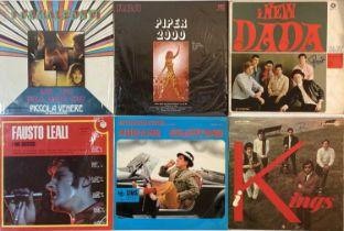 ITALIAN BANDS/PRESSINGS - GARAGE/MOD/BEAT/POP - LPs