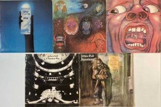 KING CRIMSON/ JETHRO TULL - ISLAND LP RARITIES