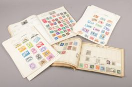 Two Stamp Albums of British and world stamps.