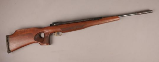 An Air Arms Khamsin .22 calibre side lever air rifle. CAN NOT POST. In need of repair. Side lever