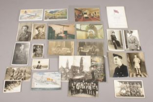 A collection of mostly postcards from WW2 - comprising of the German underground hospital in Jersey,