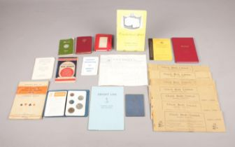 A collection of assorted Ephemera - comprising of a summer tariff booklet for the 'Cumberland Hotel,