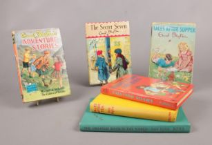 A group of Enid Blyton books. To include some first editions. Adventure Stories, Tales After Supper,