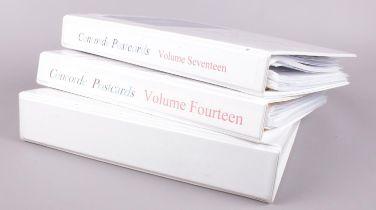 Three albums of Concord Memorabilia - to include menus, postcards and photographs etc. Condition