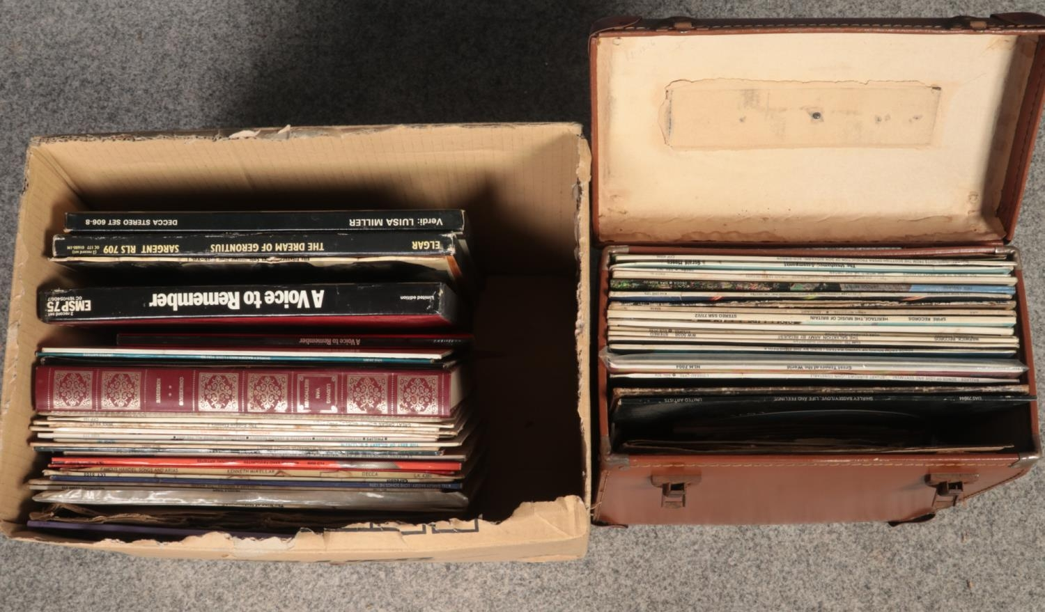A collection of vinyl LP's records & 45 rpm. To include A voice to remember (The sounds of 75 - Image 2 of 2