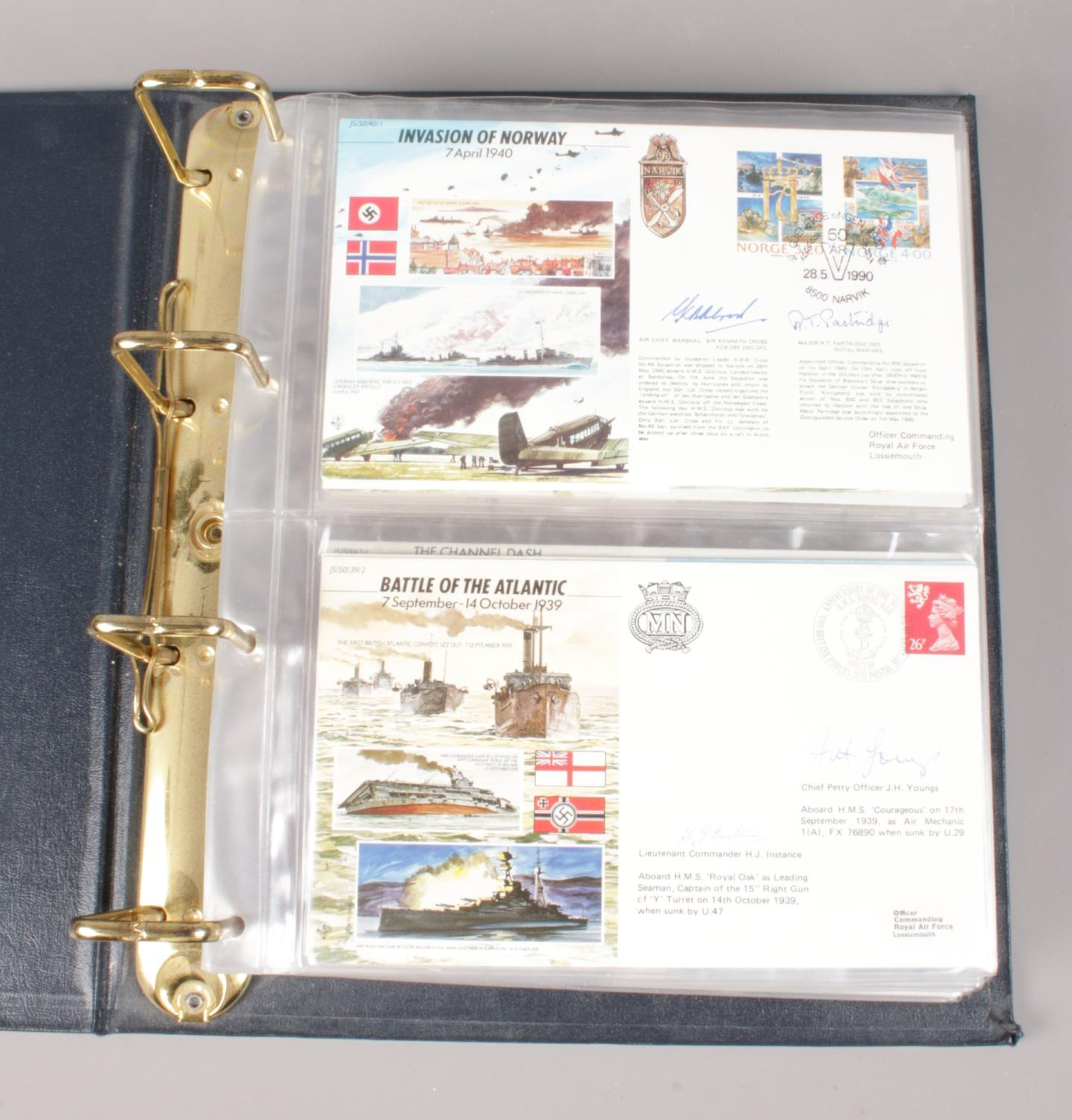 An album of WWII signed limited edition covers - comprising of mainly ace pilots. To include - - Image 2 of 2