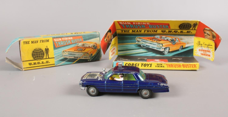 A boxed Corgi Toys 497. The man from U.N.C.L.E 'Thrush-buster'.
