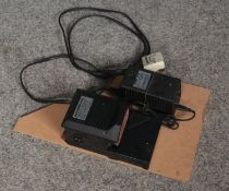 A Minicraft MB 0450 Electric Sander, mounted on an MDF board.