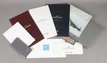 A Collection of Concorde Memorabilia from March 1992; from London to New York.