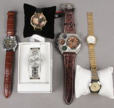 A Collection of Mens and Ladies Wristwatches. To include examples from Storm, Olivia Burton and