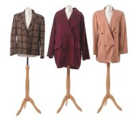 Three coats by Georges Rech,