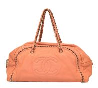 A Chanel Cahin Bag,