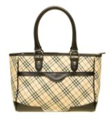 A Burberry Front Pocket Tote Bag,