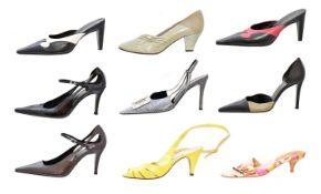 Ten pairs of designer heels,