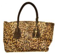 A Prada Medium Zip Shoulder Bag,