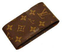 A Louis Vuitton monogram cigarette case,