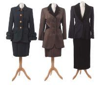 Three suits by Tomasz Starzewski,