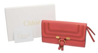 A Chloe 'Marcie' Long Flap Wallet,