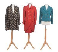 Three jackets by Caroline Charles,