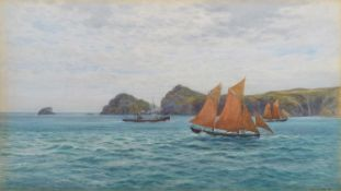 "Cyril Ward R.C.A. (British 1863-1935) ""Ramsey Sound, South Wales"""