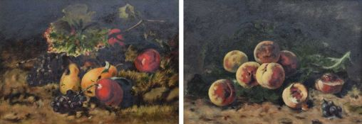 E.L. Sheen, 19th/20th century Still life studies with fruit
