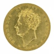King George IV, Sovereign, 1825.