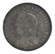 Oliver Cromwell, Shilling, 1658.