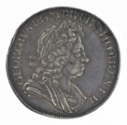 King George I, Crown, 1726 D. TERTIO.