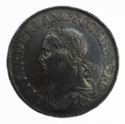 Oliver Cromwell, Crown, 1658/7.