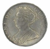Queen Anne, Crown, 1707 SEPTIMO.