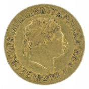 King George III, Sovereign, 1820.