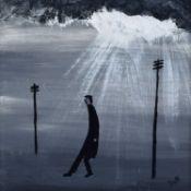 "Vincent Dott (20th/21st century) ""Man Alone"""