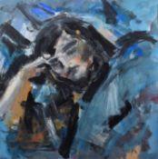 """Ghislaine Howard (British 1953-) """"Cordelia Sleeping"""""""