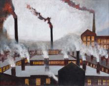 Atherton, 20th century Industrial rooftops