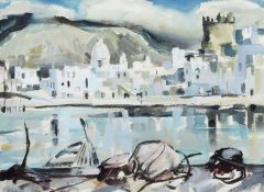 "Terry McGlynn (British 1903-1973) ""Harbour, Forio"""