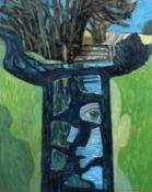 """Norman C. Jaques (British 1922-2014) """"Country Lane Portrait"""""""