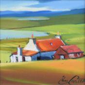 "Pam Carter (Scottish 1952-) ""Red Farm"""