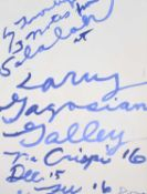 Cy Twombly (American 1928-2011) Three Notes from Salalah Poster