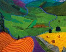 "David Hockney R.A. (British 1937-) ""North Yorkshire, 1997"""