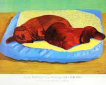"David Hockney R.A. (British 1937-) ""Dog Paintings, Salts Mill, 1995"""